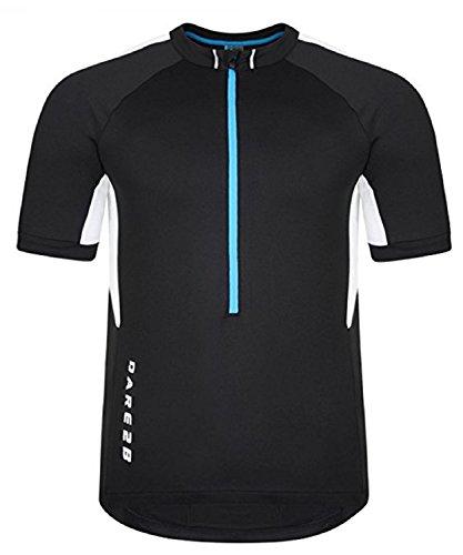 Dare 2b Men's Retribute Cycle Jersey, Size US M Black from Dare 2b