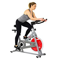 This Sunny Indoor Cycling Bike comes with adjustable handlebars and seat to accommodate users of different height and weight, while multiple resistance levels will present you with varied and more challenging workouts over time. Made with a h...