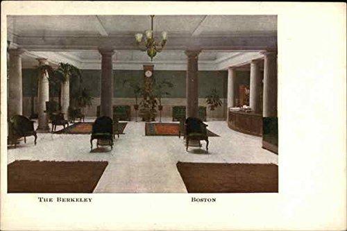 The Berkeley Hotel Boston, Massachusetts Original Vintage Postcard