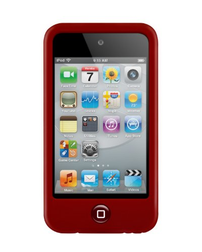 Switcheasy Colours - SwitchEasy Colors Silicone Case for iPod Touch 4G -Crimson