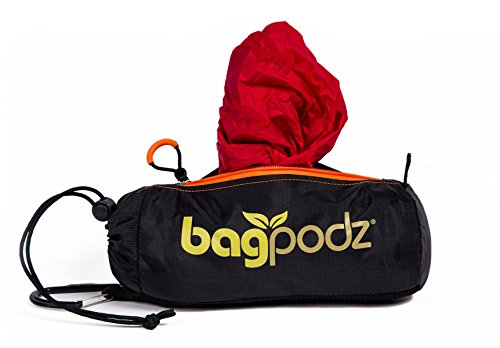(BagPodz Reusable Bag and Storage System - Cayenne Red (Contains 10 Bags))