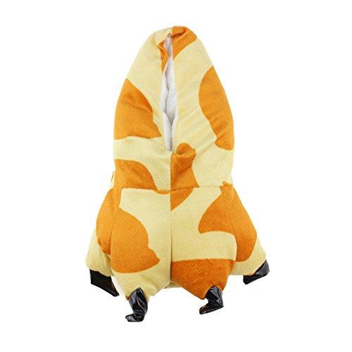 Fuzzy Dyr Dinosaur Klo Tøfler Myk Plysj Labben For Barn Og Voksne Giraff