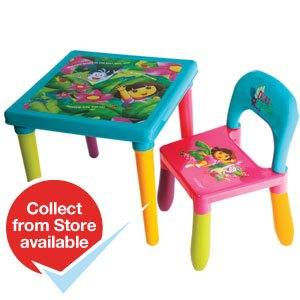 Dora the Explorer Table and Chair Set plus free gift from your pure immagination  sc 1 st  Amazon UK & Dora the Explorer Table and Chair Set plus free gift from your pure ...