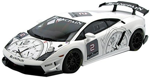 LP560-4 Trofeo Blancpain - White 2009 1:18 Model 74689 by AUTOart (2009 Lamborghini Gallardo Lp560 4)