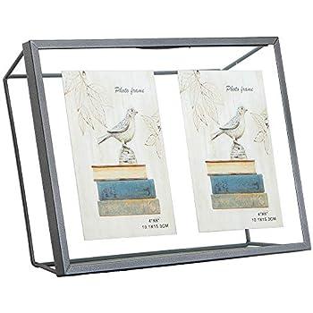Amazon Com Popilion Contemporary Silver Metal Collage