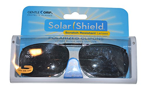 04231b8b05 Image Unavailable. Image not available for. Color  Solar Shield 54 Rec 1  Full Frame Gray Polarized Clip on Sunglasses