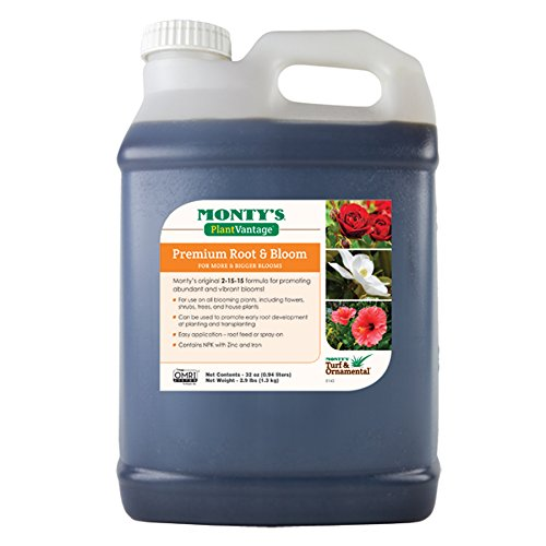 (Monty's Plant Food Company 502323     32 oz Premium Plant Vantage Root Bloom Fertilizer)