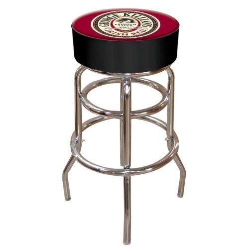 - George Killian's Irish Red Padded Swivel Bar Stool by Trademark Gameroom