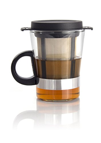 Finum Tea Glass System 200 ml, schwarz