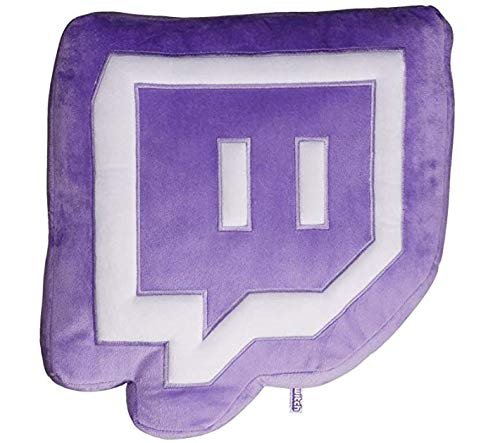 Twitch Glitch Pillow Plush