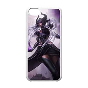 iPhone 5c Cell Phone Case White League of Legends Syndra 0 UVW0612434