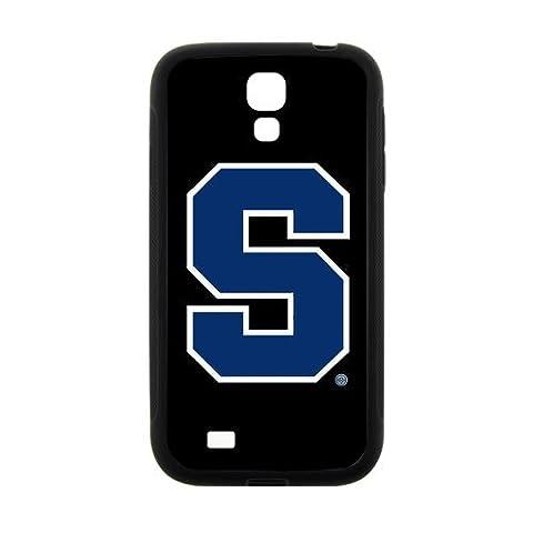 NCAA Syracuse Orange Custom Phone Case Phoneases Hard Plastic and TPU for SamSung Galaxy S4 I9500 (Syracuse Galaxy S4 Phone Case)