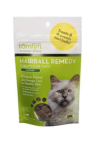 Tomlyn Feline Laxatone Chews for Cats 60 ct. (Tomlyn Products Laxatone)