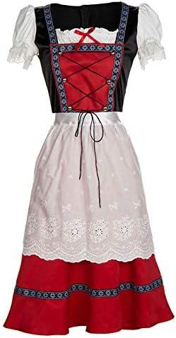 FairOnly Oktoberfest - Disfraz de Vaquero para Mujer, diseño Retro ...