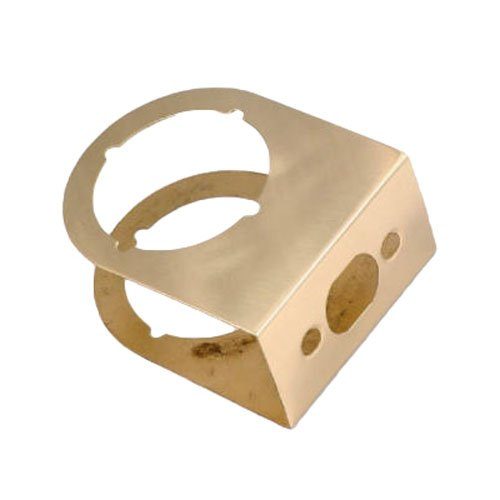 Belwith Products 2035-PB Door Reinforcer, 3-Inch, Polished Brass ()