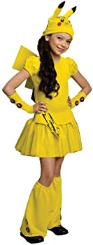 Pokemon Girl Pikachu Costume Dress