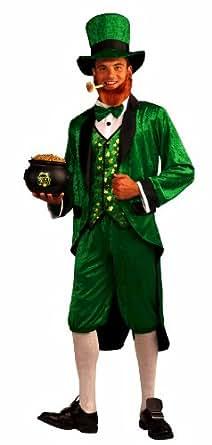 Forum Mr.Leprechaun Costume, Green, Adult
