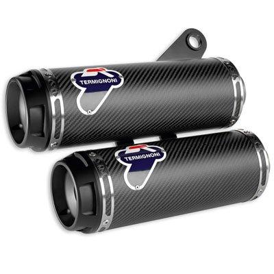 Monster 1200 Carbon Fiber Racing Silencer Kit 96480311A