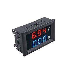 Item Type:Battery Testers Hardware Version:Voltmeter Ammeter Software Version:DC 100V 10A Voltmeter & Ammeter Model Name:D35533 Power:DC 100V 10A Voltage:DC 100V External Testing Certification:ce Item Length:4.8cm Item Width:2.9cm Item He...