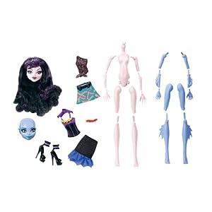 Contenido del Pack para crear una Vampiresa y una Monstruo Marina