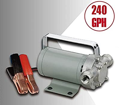 TruePower 40-4074 12V DC Utility Transfer Pump, 4470 rpm at 50 psi, 120W