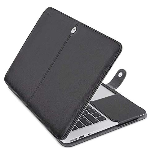 MOSISO MacBook Air 13 inch Case, Premium PU Leather Book Folio Protective Stand Cover Sleeve Compati - http://coolthings.us