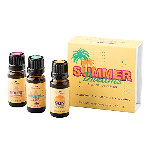 Ylang Ylang Inhaler - Plant Therapy Summer Dreams Set 100% Pure, Therapeutic Grade, Undiluted