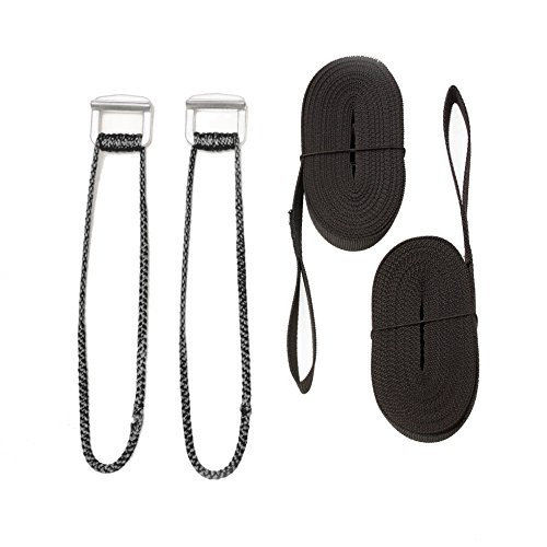 Go Outfitters Hammock Suspension System with Cinch Buckles (Amsteel Hammock)