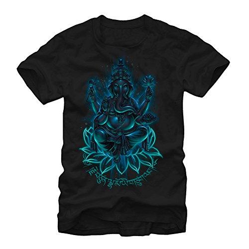 Lost Gods Ganesha Mens L Graphic T Shirt