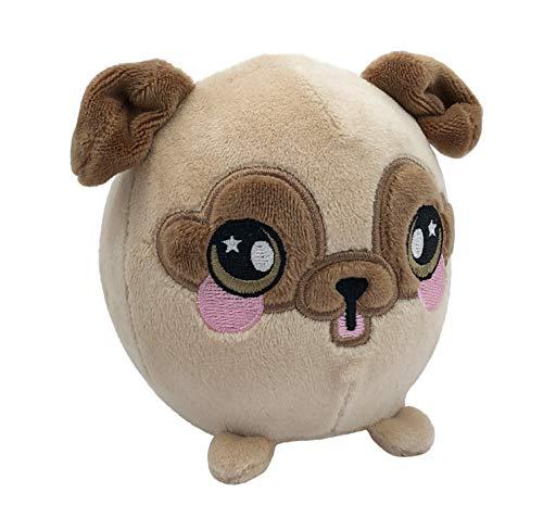 Squeezamals, Bryce Pug - 3.5 Super-Squishy Foam Stuffed Animal! Squishy, Squeezable, Cute, Soft, Adorable!