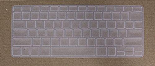 Saco Chiclet Keyboard Skin forAppleMD760HN/B MacBook Air   Transparent
