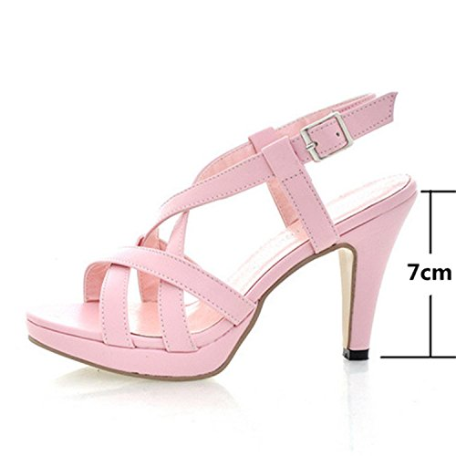 Cutout Robert Pink Westbrook Sandals Women Shoes Pink Sandals Ladies Gadiator Female High Sandals Summer Heels Platform Women qg7qwaxnr