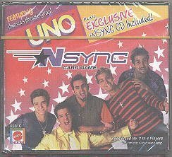 Price comparison product image Uno NSynch Card Game by Unknown (2000-01-01)