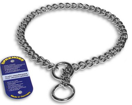 Coastal Pet Products DCPHS41030 Steel Herm Sprenger X-Heavy Chain Dog Training Choke/Collar with 4mm Link, 30-Inch