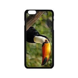 MMZ DIY PHONE CASEToucan Parrot Hight Quality Plastic Case for Iphone 6