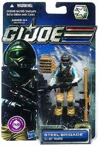 G.I. Joe 30th Anniversary 3 3/4 Inch Action Figure Steel Brigade G. I. Joe Tr... ()