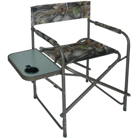 MAC SPORTS CAMO DIRECTORS CHAIR WITH TABLE