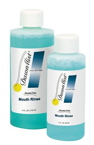 Mouth Rinse, 4 oz. Bottle, Alcohol Free, 96/CS