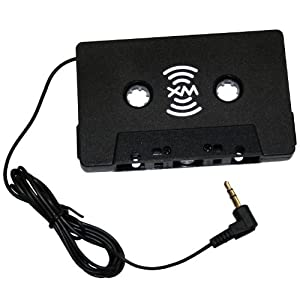 SIRIUSXM XMTTZ00257 Satellite Radio Auto Vehicle Cassette Adapter