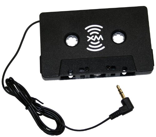 Cassette Tape Adapter (SIRIUSXM XMTTZ00257 Satellite Radio Auto Vehicle Cassette Adapter)