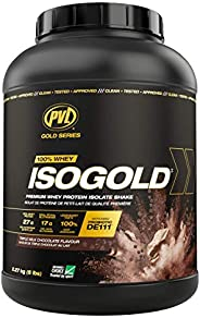 PVL ISO GOLD – Grass Fed - Premium Isolate 100% Whey Protein Shake – Enzyme Fortified - Triple Milk Chocolate