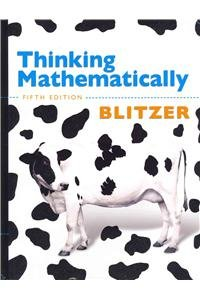 Thinking Mathematically with MathXL -- Valuepack Access Card (12-month access) (5th Edition)