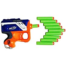 Smart Toys Dart Refill Back with Soft Tip and Nerf Zombie - 100 Green