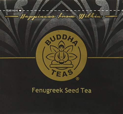 Organic Fenugreek Seed Tea - Kosher, Caffeine Free, GMO-Free - 18 Bleach Free Tea Bags - Fenugreek Seed Tea