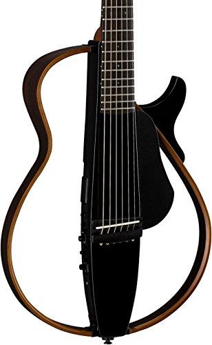 Yamaha SLG200STBL Steel String Silent Guitar w/ Gig Bag - (Silent Steel String Guitar)