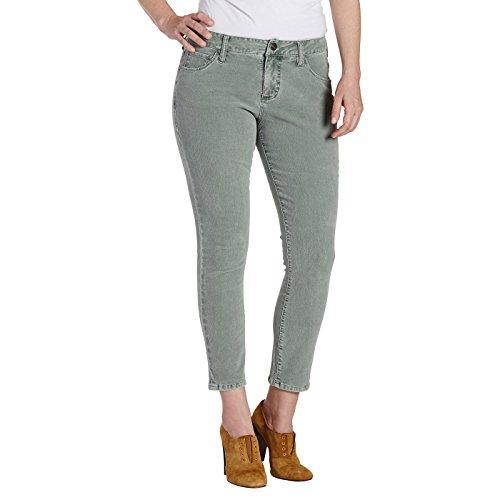 Jag Jeans Women's Mera Skinny Ankle Pant, Light Willow Corduroy, 8 - Jag Jeans Corduroy Jeans