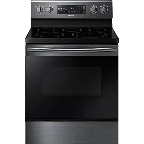 Samsung NE59M4320SG/NE59M4320SG/AA/NE59M4320SG/AA NE59M4320SG 5.9 Cu. Ft. Black Stainless Electric Convection - Range Electric Freestanding Samsung