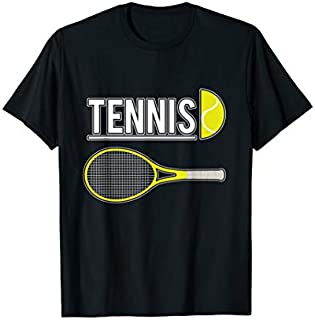 Birthday Gift Cool Tennis  with Tennis Ball and Tennis Racket Long Sleeve Funny Shirt / Navy / S - 5XL