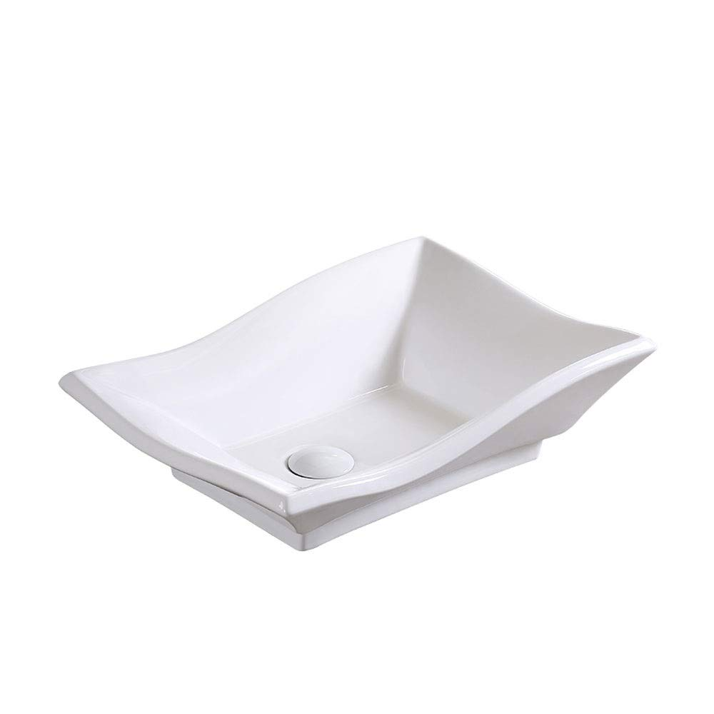 GYZ Bathroom Porcelain Basin - Above Counter Basin Square
