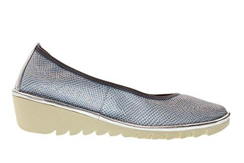 Drama Blue Mel A 22 compensées Bleu Flexx Chaussures The Femme A206 pf68znY